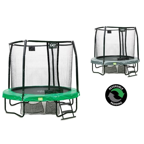 JumpArena All-in one 8ft Round Trampoline