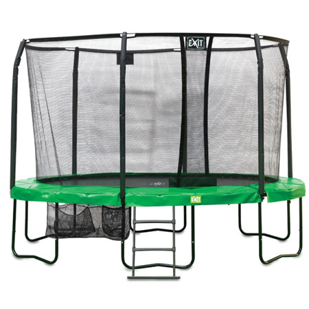 JumpArena Oval All-in one Trampoline (8ft x 12.5ft)