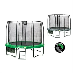 JumpArena All-in one 14ft Round Trampoline