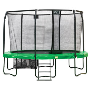 JumpArena Oval All-in one Trampoline (16ft)