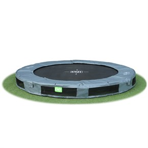 InTerra 8ft Round Trampoline Grey