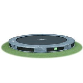 InTerra 10ft Round Trampoline Grey